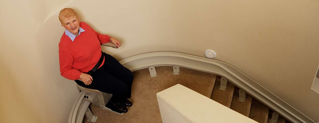 sos mobility curved stairlifts